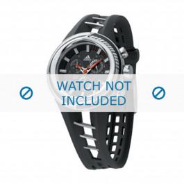 Adidas cinturino dell'orologio ADP1010 Gomma / plastica Nero