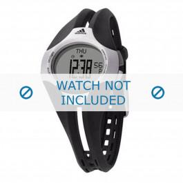 Adidas cinturino dell'orologio ADP1050 Gomma / plastica Nero