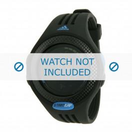 Adidas cinturino dell'orologio ADP3086 Gomma / plastica Nero