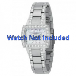 Cinturino per orologio Fossil AM4131 Acciaio Acciaio 8mm