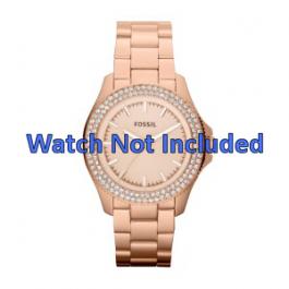 Cinturino per orologio Fossil AM4454 Acciaio Salito 18mm