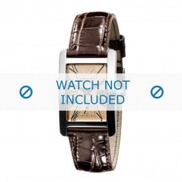 Cinturino per orologio Armani AR0155 Pelle Marrone 18mm