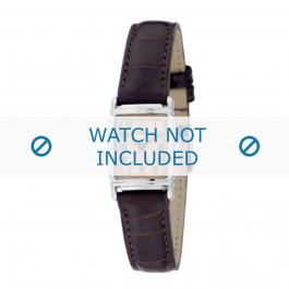 Cinturino per orologio Armani AR0205 Pelle Marrone 14mm