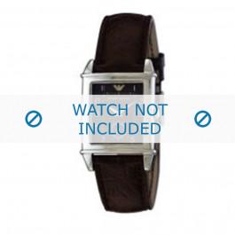 Armani cinturino orologio AR-0227 Pelle Marrone 21mm