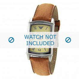 Armani cinturino orologio AR-0235 Pelle Marrone 21mm