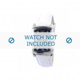 Armani cinturino orologio AR-0261 Pelle Bianco 20mm