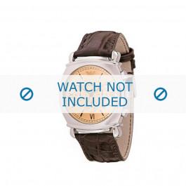 Cinturino per orologio Armani AR0286 Pelle Marrone 24mm