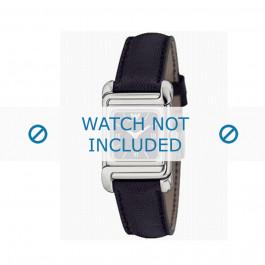 Armani cinturino orologio AR-0303 Pelle Nero 12mm