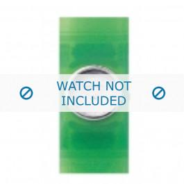 Armani cinturino orologio AR-1006 Gomma Verde 24mm