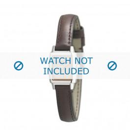 Armani cinturino orologio AR-5507 Pelle Marrone scuro 11mm