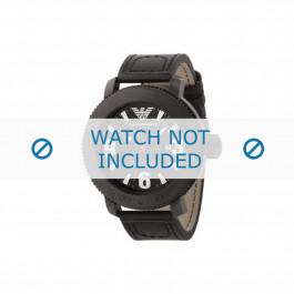 Armani cinturino orologio AR-5832 Pelle Nero