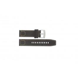 Armani cinturino orologio AR-5833 Pelle Marrone scuro 23mm