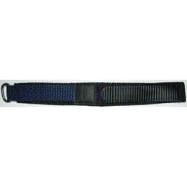 Cinturino per orologio Condor KLITTENBAND 412R Velcro Blu 20mm