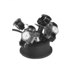 Avvolgitore per orologi automatici - Adatto per 4 orologi - Nero