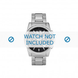 Cinturino per orologio Armani AX2084 Acciaio 22mm
