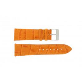 Cinturino per orologio Davis B0201 / 16 Pelle Arancione 16mm
