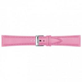 Cinturino per orologio Universale 662.16 Pelle Rosa 14mm