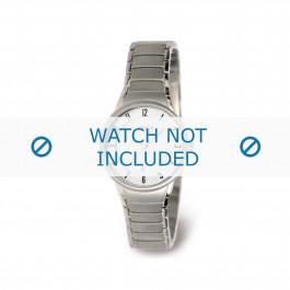 Cinturino per orologio Boccia 3158-01 Titanio Grigio antracite 14mm