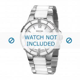 Boccia cinturino dell'orologio 3215.01  Ceramica Bianco