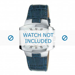 Breil cinturino dell'orologio 2519740846 Pelle Blu + cuciture blu