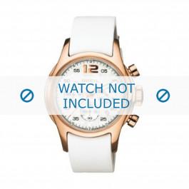 Breil cinturino dell'orologio BW0265 Pelle Bianco 18mm