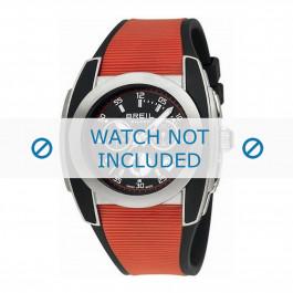 Breil cinturino dell'orologio BW0376 Gomma / plastica Rosso