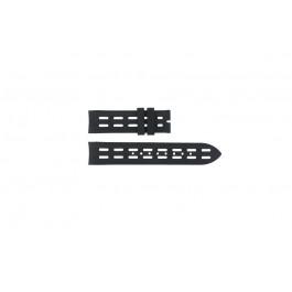 Breil cinturino dell'orologio BW0400 / F260053257 / F260053260 Gomma Nero 22mm