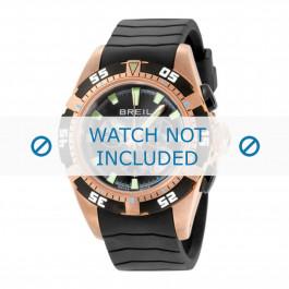 Breil cinturino dell'orologio BW0410 Gomma Nero 22mm