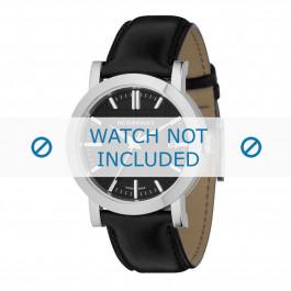 Cinturino per orologio Burberry BU1354 / BU1382 Cuoio morbido Nero 20mm