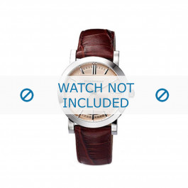 Cinturino per orologio Burberry BU1356 Pelle Marrone 20mm