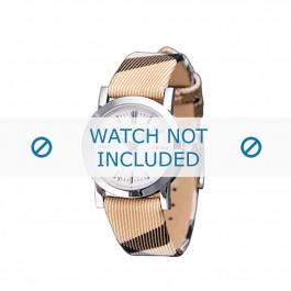 Burberry cinturino dell'orologio BU1387 Pelle Beige
