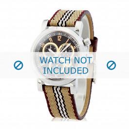 Burberry cinturino dell'orologio BU7103  Pelle Bianco