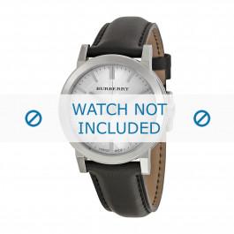 Cinturino per orologio Burberry BU9008 / BU1772 / BU9022 / BU9009 Pelle Nero 20mm