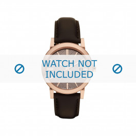 Cinturino per orologio Burberry BU9013 Pelle Marrone 20mm