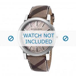 Cinturino per orologio Burberry BU9029 Pelle Multicolore 20mm