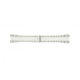 Breil cinturino orologio BW0224 Acciaio Bianco 27mm