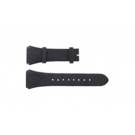 Breil cinturino orologio BW0384 Pelle Nero 25mm