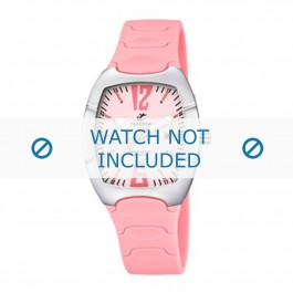 Calypso cinturino dell'orologio K5161-2 Gomma / plastica Rosa 11mm
