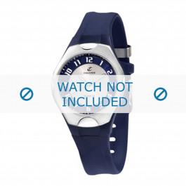 Calypso cinturino dell'orologio K5162-4 Gomma / plastica Blu