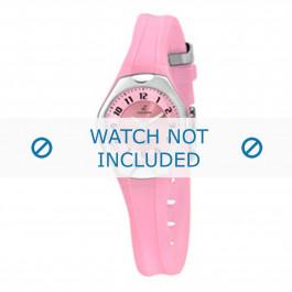 Cinturino per orologio Calypso K5163-5 Gomma Rosa 10mm
