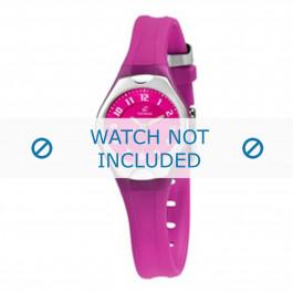 Calypso cinturino dell'orologio K5163-8 Gomma / plastica Rosa