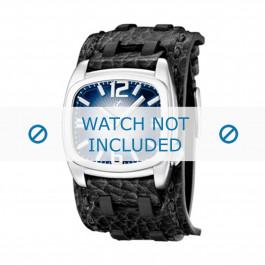 Calypso cinturino dell'orologio  K5224/3 Pelle Nero 26mm