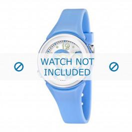 Calypso cinturino dell'orologio K5576-2 Gomma / plastica Blu chiaro