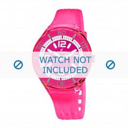 Calypso cinturino dell'orologio K5588/4  Gomma / plastica Rosa