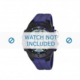 Cinturino per orologio Calypso K5607-2 Gomma Blu 20mm
