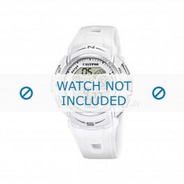 Calypso cinturino dell'orologio K5610-1 Gomma / plastica Bianco