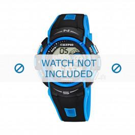 Cinturino per orologio Calypso K5610.6 Gomma Blu 24mm