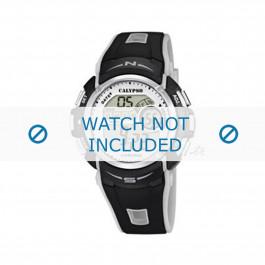 Cinturino per orologio Calypso K5610.8 Gomma Nero 21mm