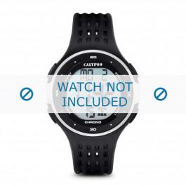 Cinturino per orologio Calypso K5664-1 Gomma Nero 19mm