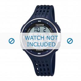 Calypso cinturino dell'orologio K5664-2 Gomma / plastica Blu